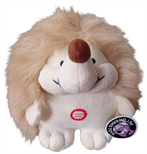 Pet Qwerks Plush Hedgehog Interactive Dog Toy