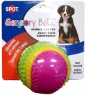 Ethical Pets Sensory Ball Dog Toy, 3.25″