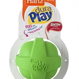 Hartz Dura Play Bacon Scented Dog Ball – Large