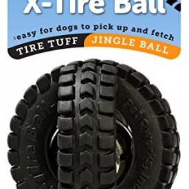 Pet Qwerks Jingle X-Tire Ball Dog Toy