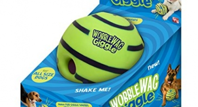 Wobble Wag Giggle Ball Dog Toy Review